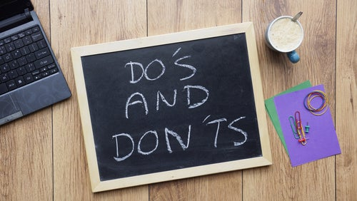 20 Dos and Don'ts for Improving Your Credit Score