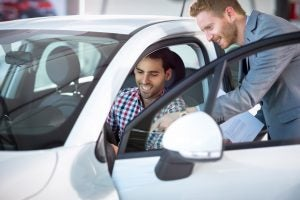 car shopping affect on credit