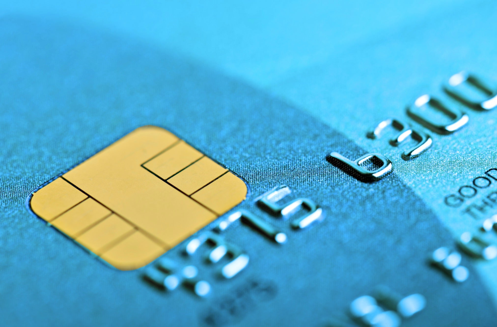 credit card chips secure