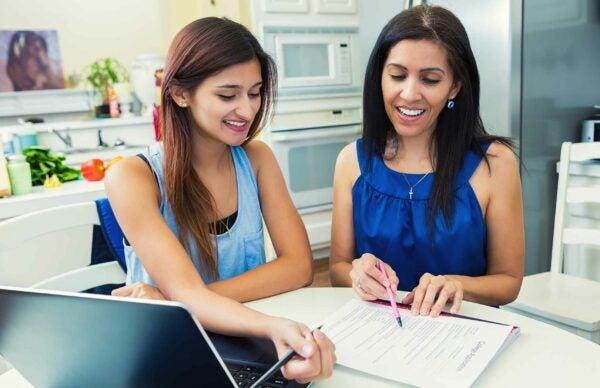two women loan process