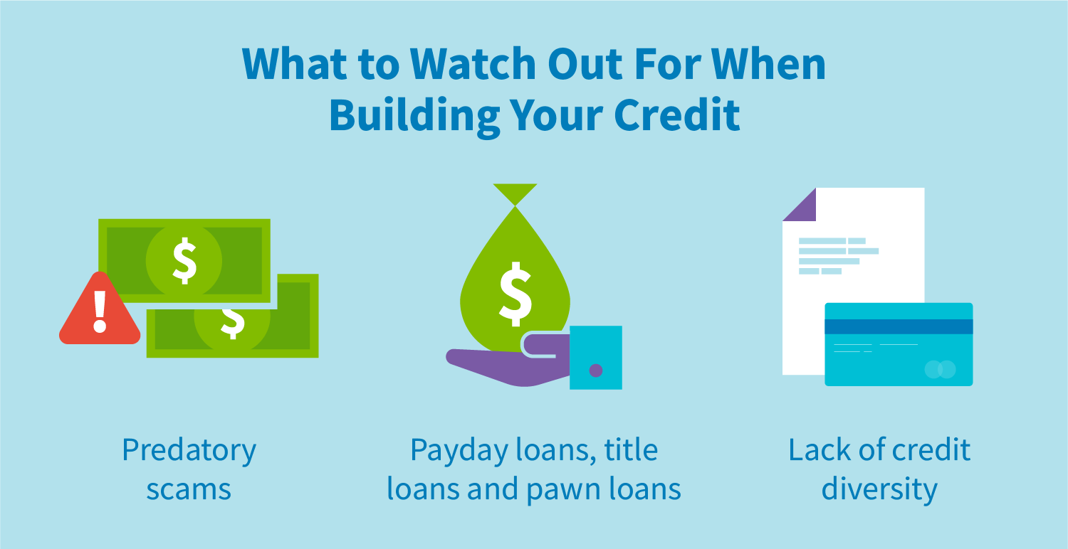 What to watch out for when building your credit