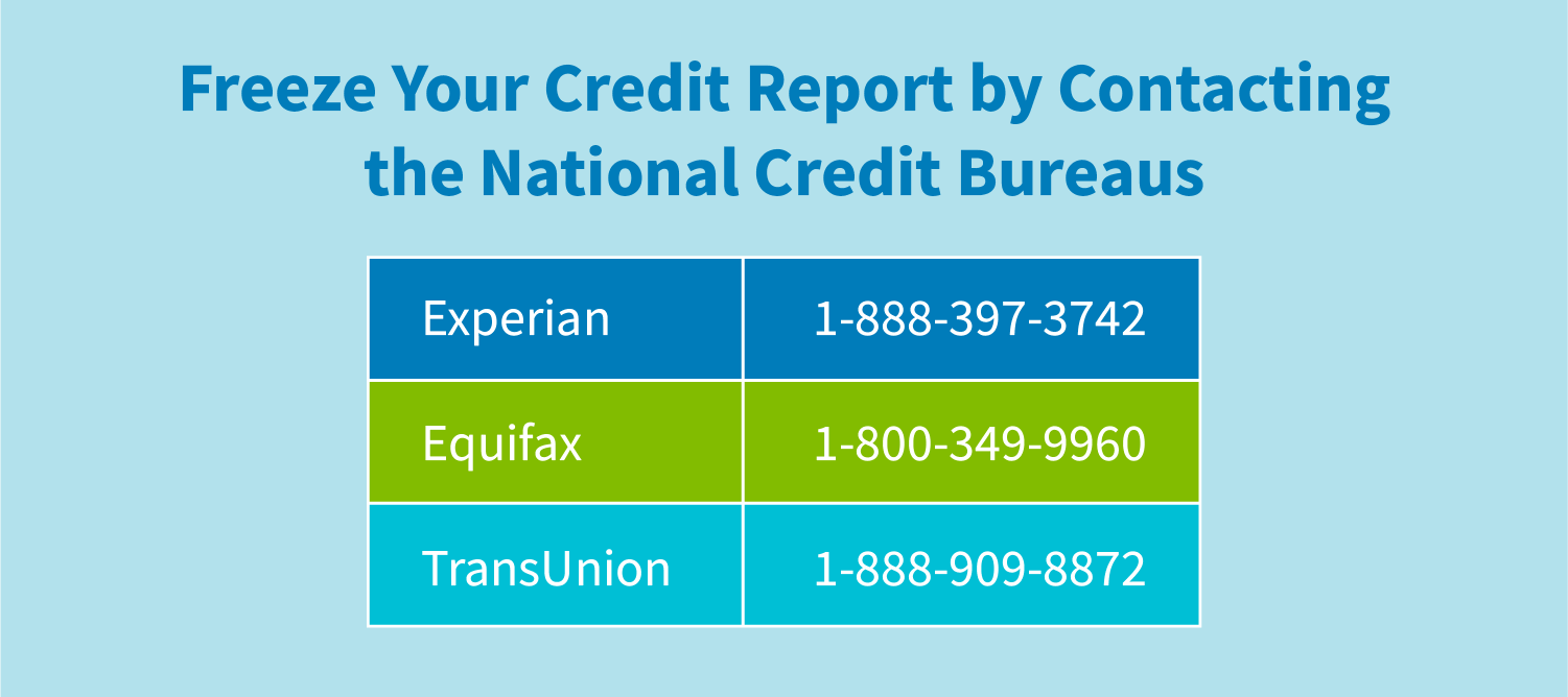 How To Freeze Your Credit Report Creditrepair Com